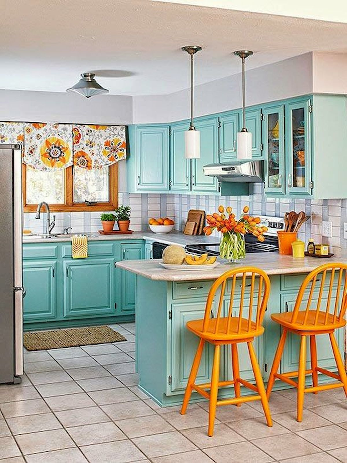 decor and design 38 best farmhouse kitchen decor and design ideas for 2018 Published December 30, 2018 at 1200 × 1599 in 44 Best Farmhouse Kitchen  Cabinets Design Ideas And Decor