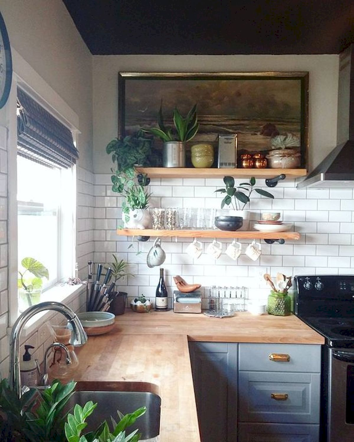 60 Great Farmhouse Kitchen Countertops Design Ideas And ... on Farmhouse Counter Tops  id=62714
