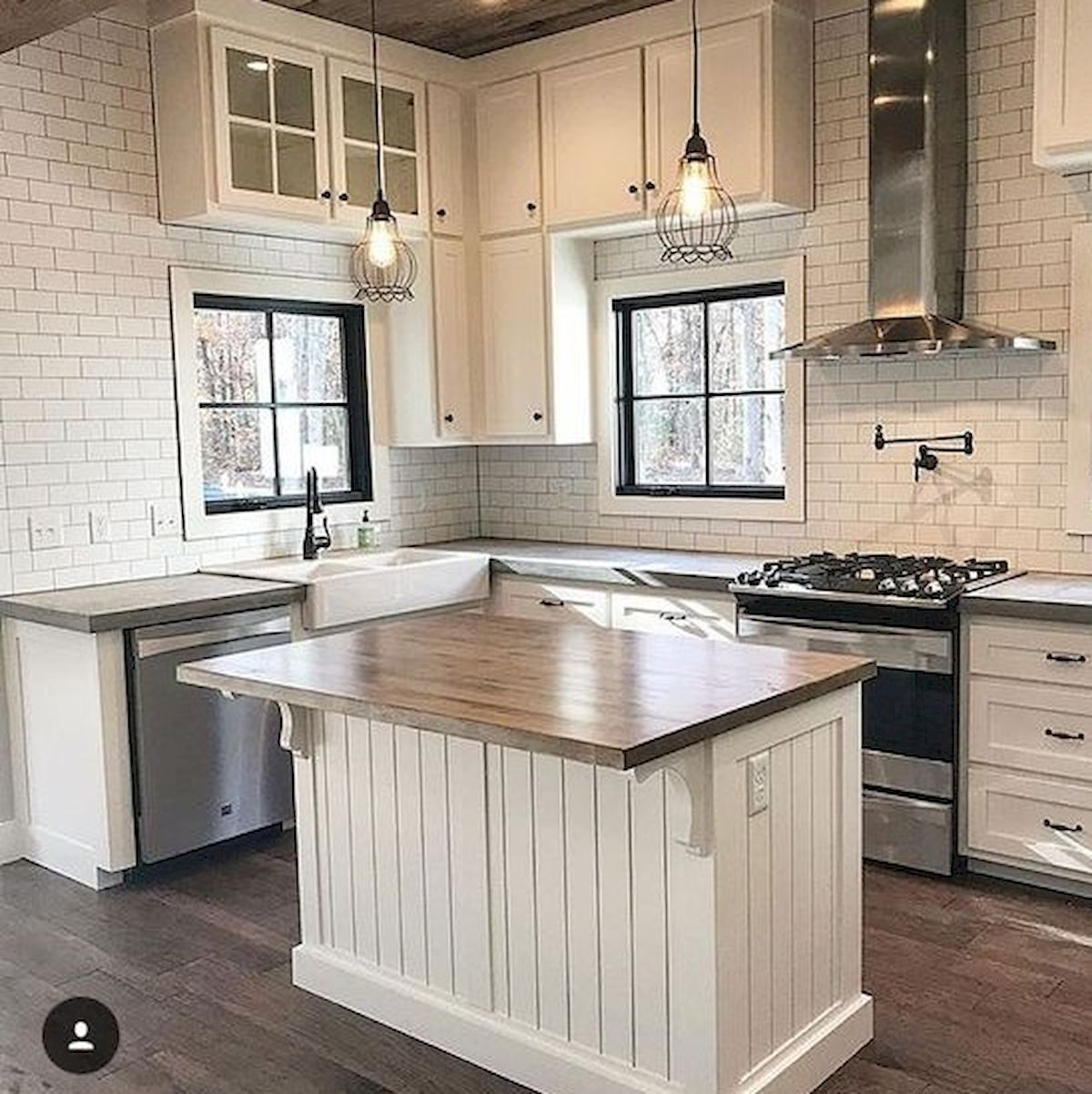 Farmhouse Kitchen Cabinets: 60 Great Farmhouse Kitchen Countertops Design Ideas And