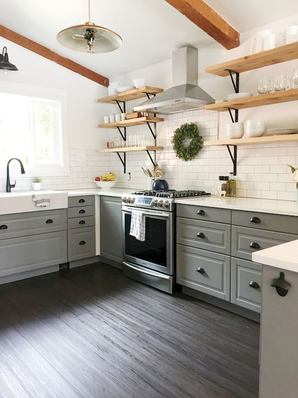 77 Best Farmhouse Kitchen Decor Ideas And Remodel - Googodecor
