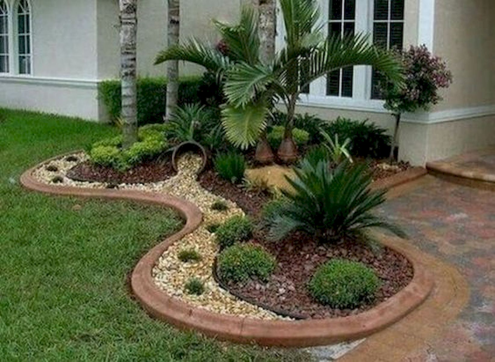 70 Magical Side Yard And Backyard Gravel Garden Design ... on Patio And Gravel Garden Ideas id=48108
