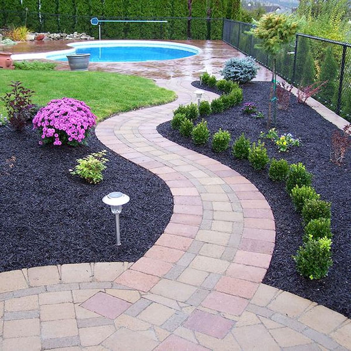 70 Magical Side Yard And Backyard Gravel Garden Design Ideas ...