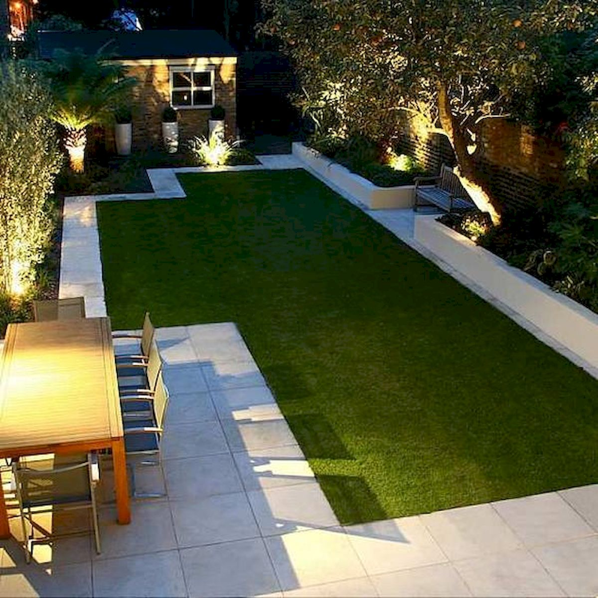 Backyards Garden Lighting Design Ideas Gooecor