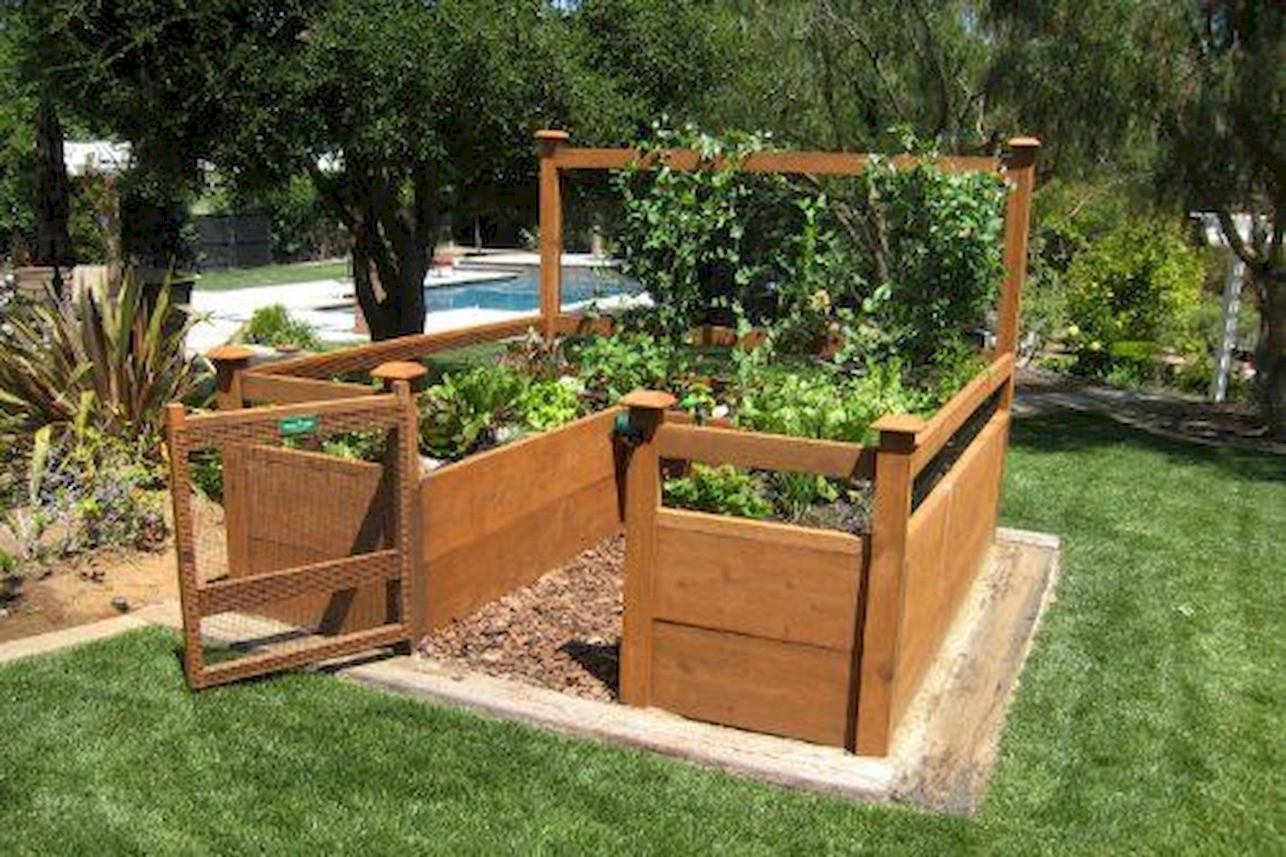 Garden Beds Design Ideas For Summer (36)