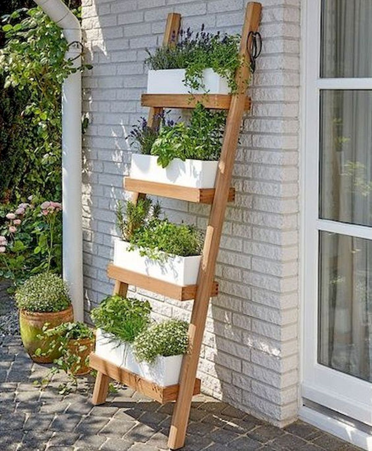 Best 20 Herb Garden Design 2017: Ladder In The Garden Design Ideas And Remodel