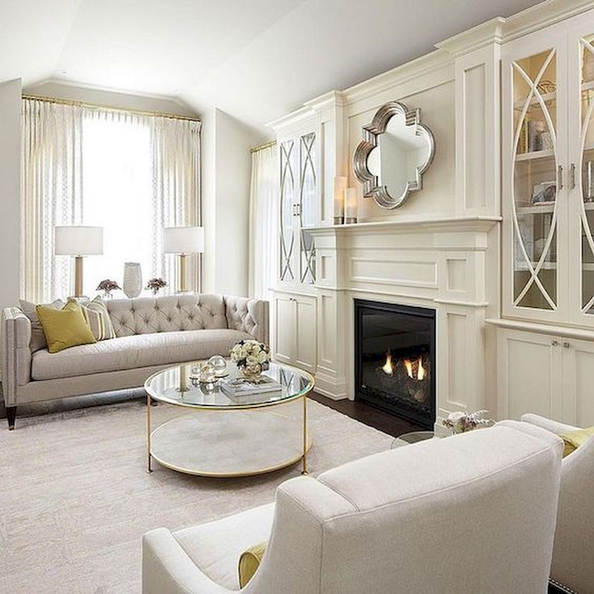 49 Elegant Living Room Decor Ideas