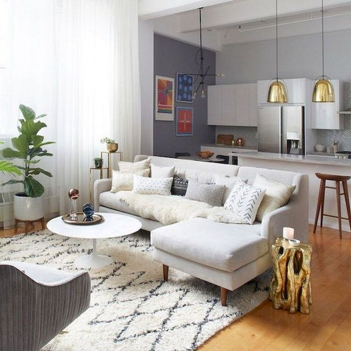57 Cozy Living Room Apartment Decor Ideas 37